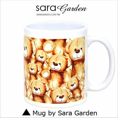 客製 手作 彩繪 馬克杯 Mug 手繪 插畫 水彩 可愛 熊熊 排排坐 咖啡杯 陶瓷杯 杯