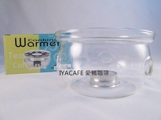 《愛鴨咖啡》FH-202B 一屋窯 耐熱玻璃 花茶壺 保溫爐座 贈蠟燭1顆