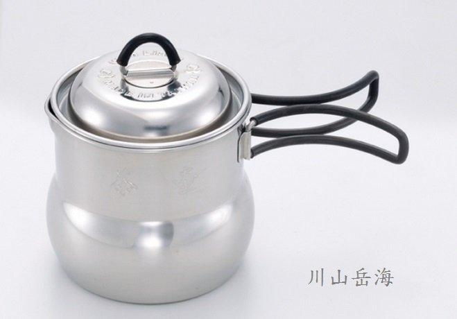 [ Wen Liang 文樑 ] 小茶壺鍋 / 露營 / 登山 /攜帶型 /450cc / ST-2014
