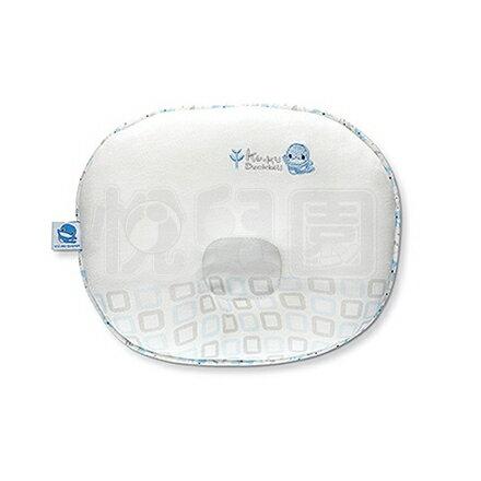 KUKU酷咕鴨竹纖有機棉機能護頭枕-藍【悅兒園婦幼生活館】