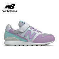 New Balance 美國慢跑鞋/跑步鞋推薦【New Balance】童鞋_中性_淺紫_YV996PLQ-W楦