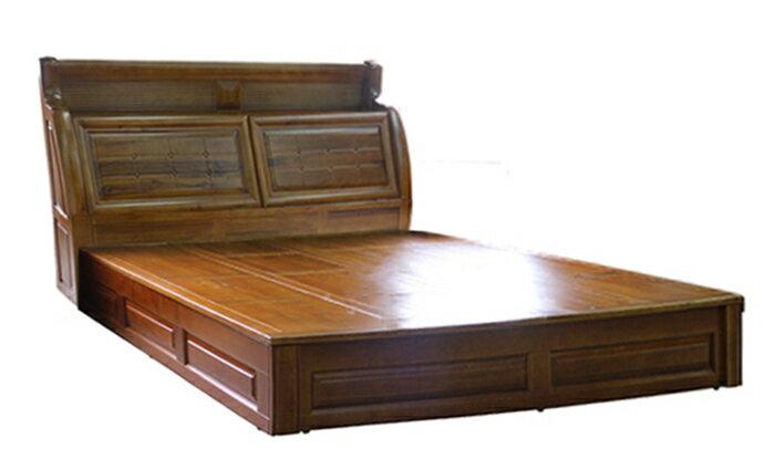 【尚品家具】702-20 波斯6尺實木床台/床箱型床架/床頭箱/床架/床箱型床架組