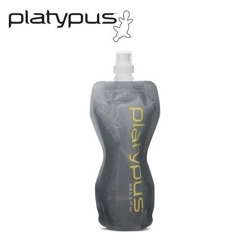 ├登山樂┤美國PlatypusSoftBottle軟式運動水瓶0.5L-灰#PLATY-06942