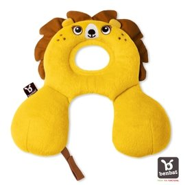 【以色列Benbat】寶寶旅行頸枕/頭枕 適用0-1歲 獅子【紫貝殼】