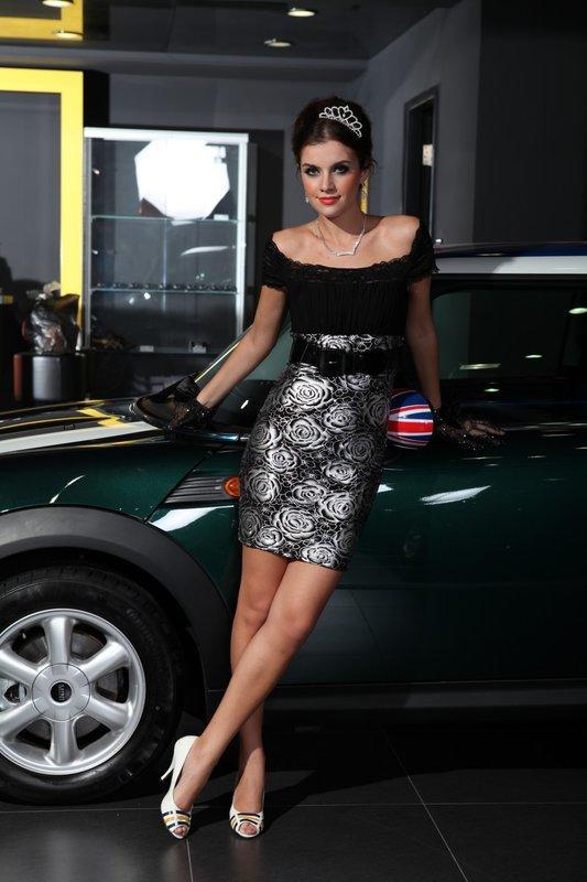 一字泡泡袖禮服縮褶裹胸短袖配腰帶黑金色洋裝夜店小禮服 21434-1