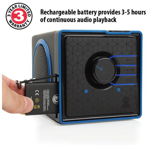 SONAVERSE BX Portable Rechargeable Stereo Speaker System for Sony PSP/ Nintendo 3DS & more 1