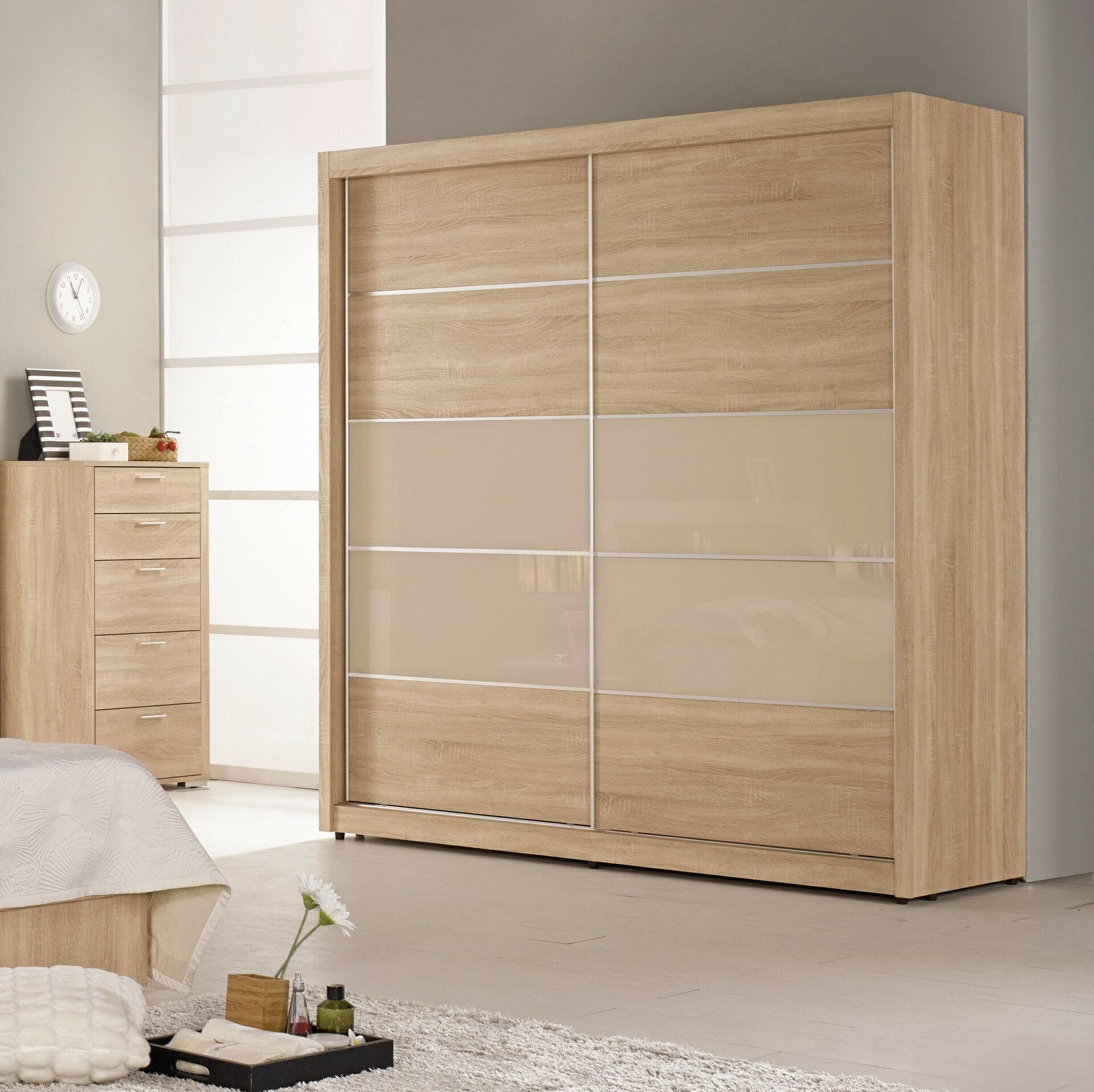 【簡單家具】,G076-2 格瑞斯6尺拉門衣櫥/衣櫃,大台北都會區免運費!