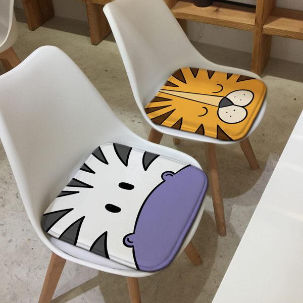 時尚簡約四季沙發墊加厚坐墊7辦公室學生椅墊餐椅墊