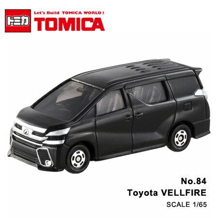 日貨 TOMICA No.84 Toyota VELLFIRE 豐田 真車系列 汽車模型 多美小汽車【N201357】