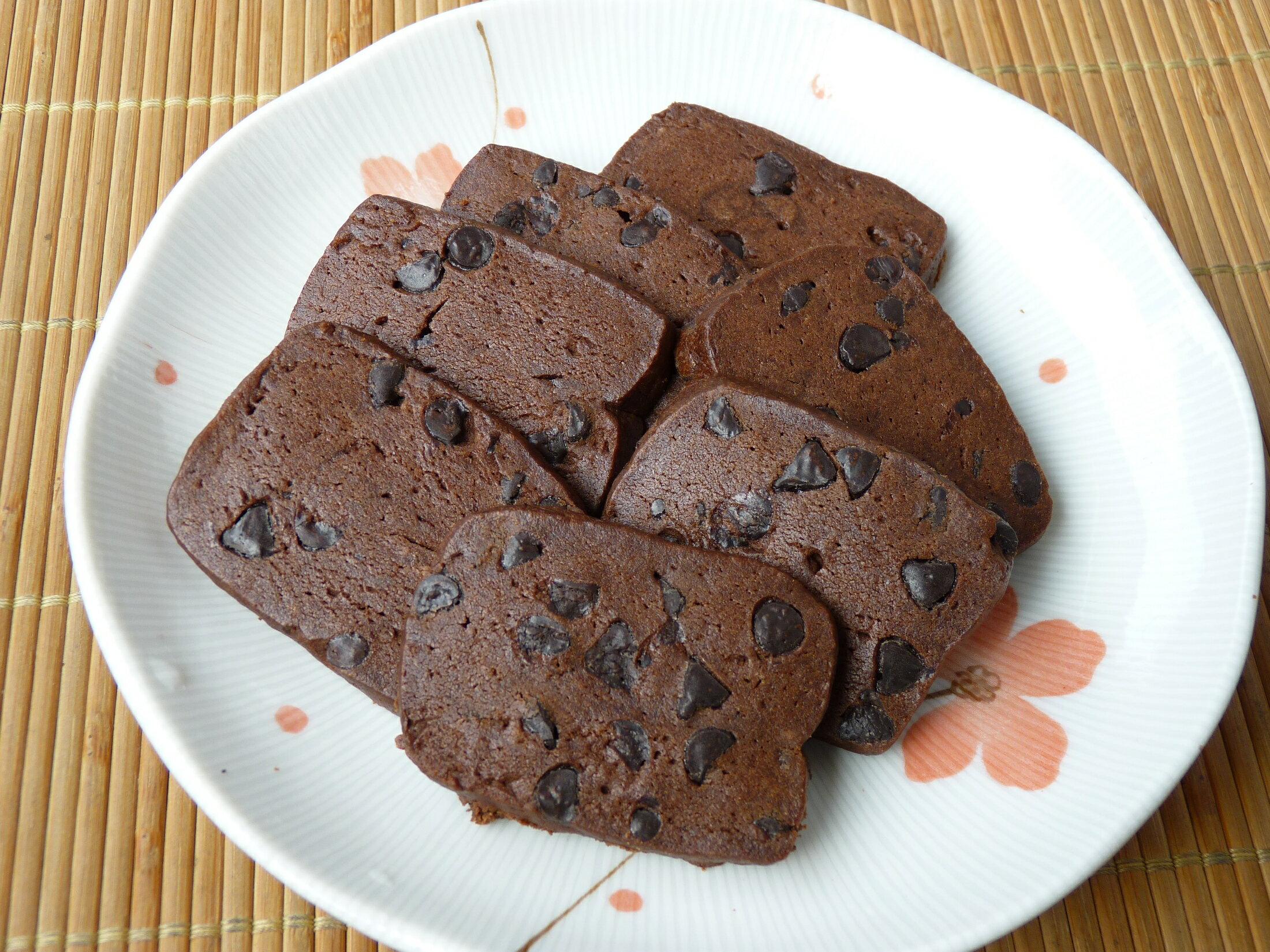 【楓月軒】黑眼豆豆巧克力手工餅乾    一包180±10公克