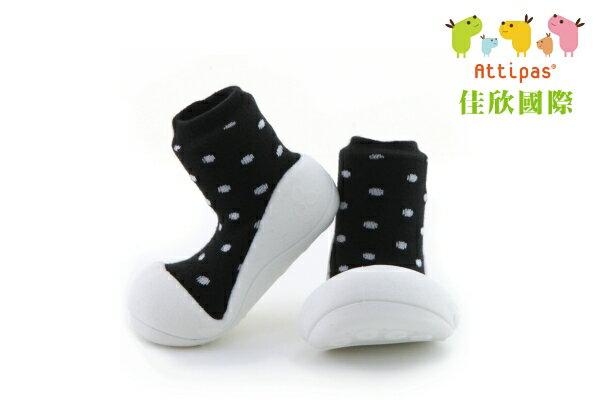 【平均1雙只要495】韓國【Attipas】快樂腳襪型學步鞋(AB牛奶系列)