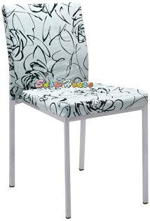 ╭☆雪之屋居家生活館☆╯R853-06浮雕蔓玫28-41布烤銀腳雅柏餐椅造型椅