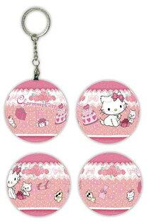 P2拼圖網:Charmmykitty玫瑰禮物球形拼圖鑰匙圈24片