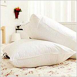 A-nice 雅妮詩居家專櫃羽絨枕【純棉布 / 雙層防漏】高/ 中/ 低 任選(一顆)