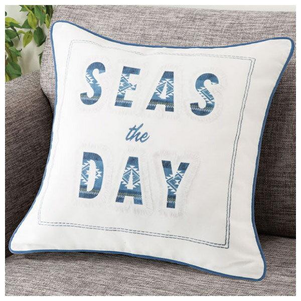 抱枕套 SEA THE DAY 45×45 Q 19 NITORI宜得利家居 0