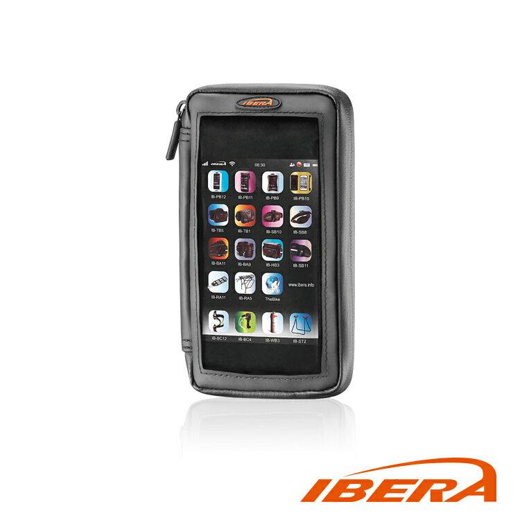 IBERA 5-5.8吋零錢包手機袋 IB-PB23+Q6 / 城市綠洲 (單車、自行車、三鐵、腳踏車)