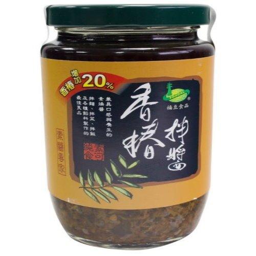 《小瓢蟲生機坊》美綠地(福豆食品) - 香椿拌醬330g 罐 調味品