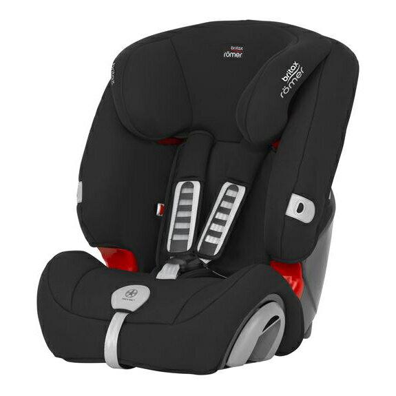 Britax - Romer Evolva 1-2-3 Plus 旗艦成長型汽車安全座椅(汽座) -玄黑