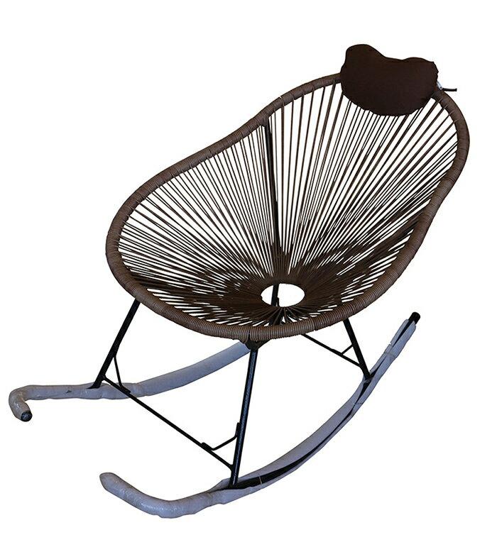 【尚品家具】 468-01 咖啡休閒搖椅、造型椅/小椅子/小座椅/單人椅/休閒椅/居家椅/家庭椅