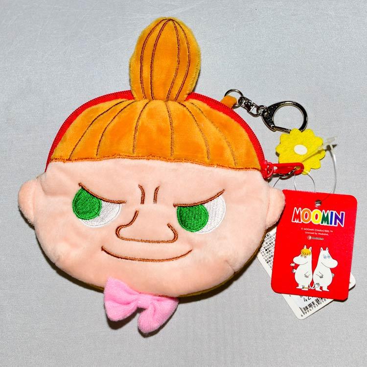 MOOMIN 嚕嚕米 小不點亞美 吊飾 錢包 化妝包 附鑰匙扣 日本正版商品