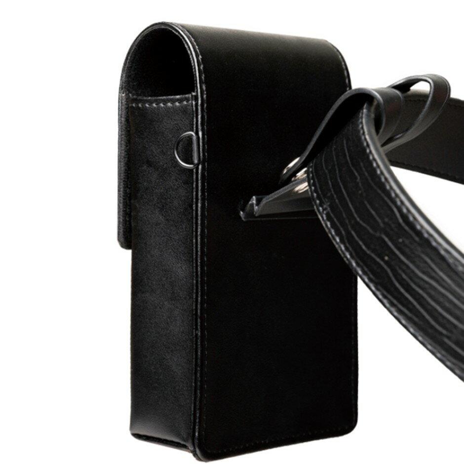 外銷歐美 可放2支手機 高級真皮直式雙機包+卡夾包 專利卡扣彎腰不卡卡 出口歐美🔹顛覆傳統腰掛皮套 隨心調整🔹 2