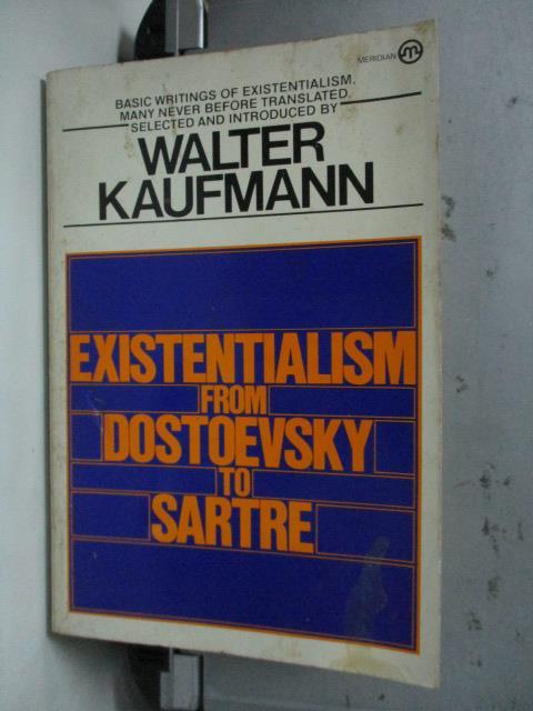 ~書寶 書T1/哲學_LMD~Existentialism from Dostoevsky