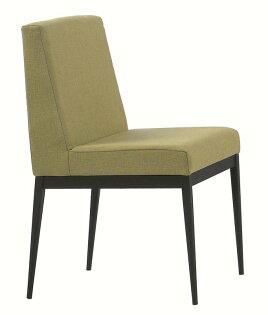 【石川家居】JF-486-5卡特黑腳布餐椅-棕色(單只)(不含其他商品)台北到高雄搭配車趟免運