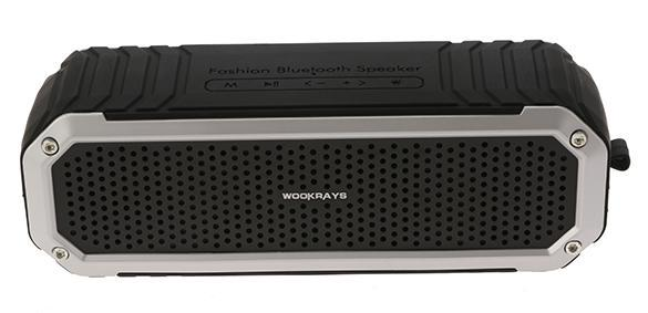 WOOKRAYS Portable Wireless Bluetooth Speaker 0