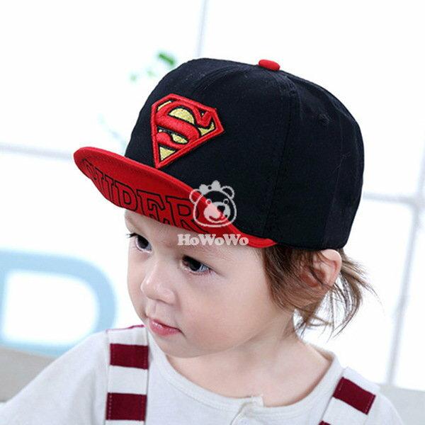 寶寶帽 超人棒球帽 軟沿鴨舌帽 帽子 防曬必備 BU1569 好娃娃
