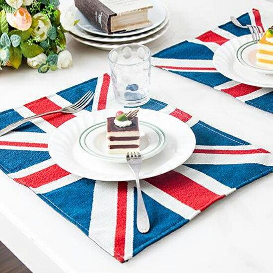 ♚MY COLOR♚英國旗隔熱餐墊 餐桌 西餐 防滑 隔熱 易清洗 廚房 用餐 風格 國外 特色【L159】