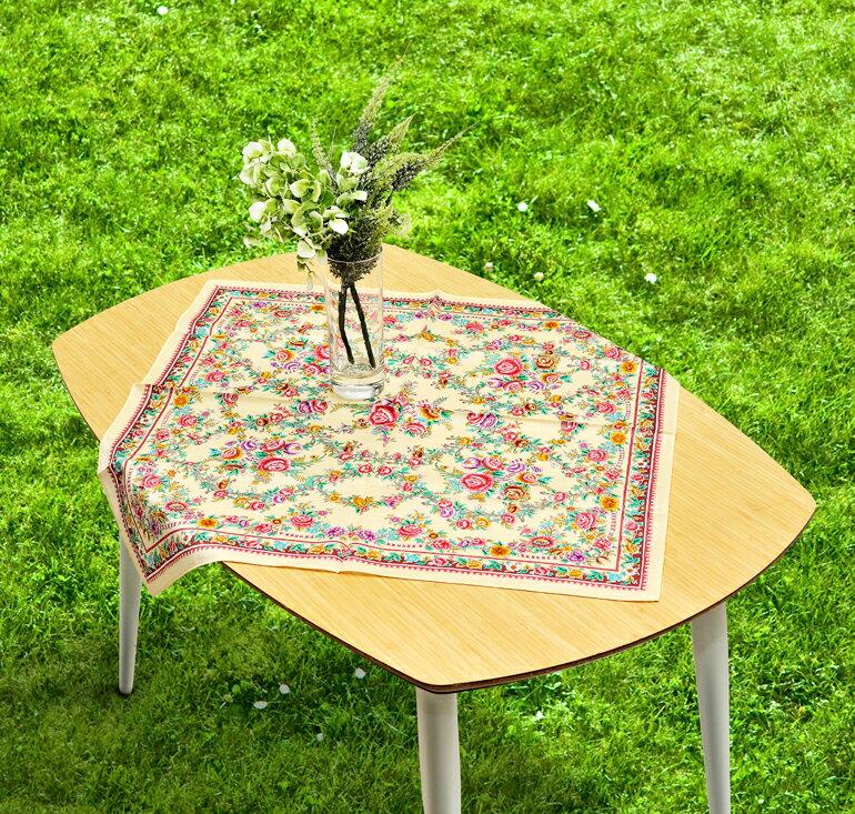 日本集采苑 - Rose Series 華苑手帕/方巾/頭巾禮品袋《日本設計製造》《全館免運費》,從設計、織法、染印到織工,每個階段皆由一流頂尖職人親自完成