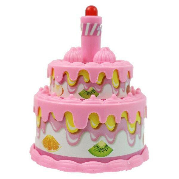 趣味生日蛋糕T872音樂生日蛋糕組(附電池)一個入{促120}~生日蛋糕家家酒仿真生日蛋糕田.東匯