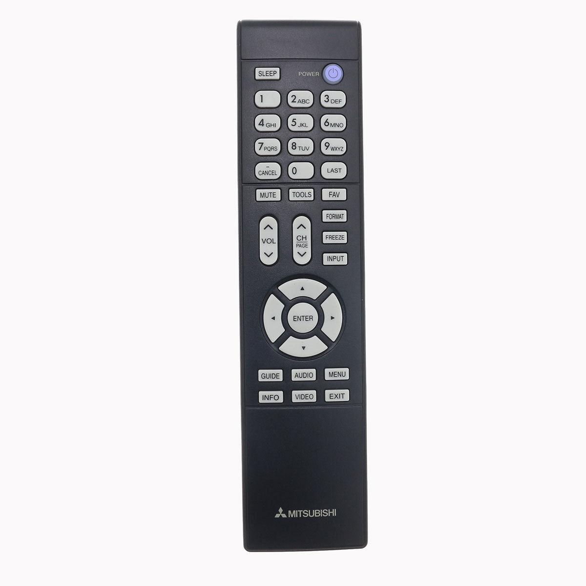 new mitsubishi tv remote for ws 48613 ws 55311 ws 55313 ws 55315 ws 55411 rh rakuten com Mitsubishi WS-55313 Flashing Green Light Mitsubishi WS-55313 Flashing Green Light