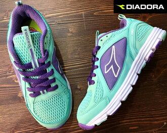 【剪標品出清-22.5號】義大利國寶鞋-DIADORA迪亞多納 女款/大童透氣輕量運動慢跑鞋