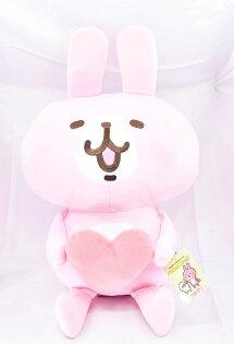 X射線【C570625】卡娜赫拉Kanahei18吋玩偶-愛心,絨毛填充玩偶玩具公仔抱枕靠枕娃娃