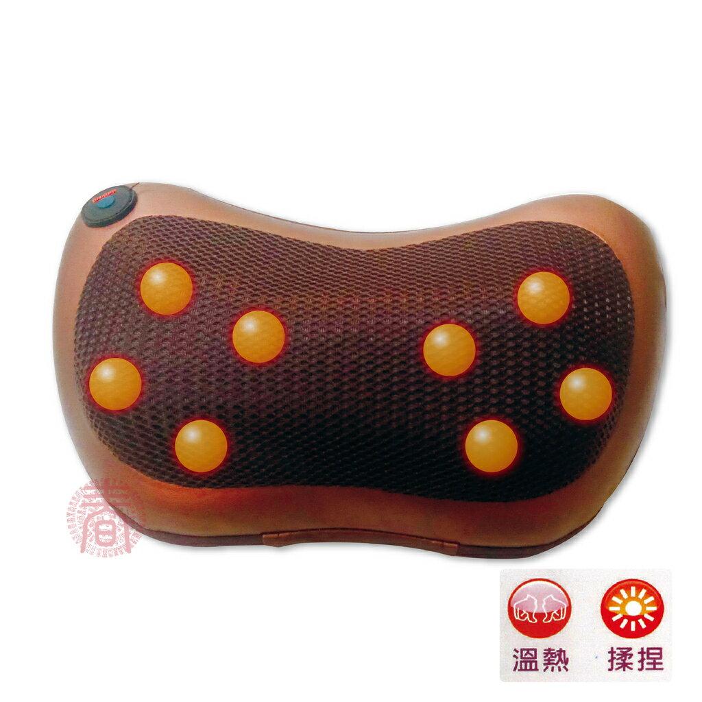 溫柔舒壓按摩枕〈HY-668〉 護腰枕 按摩帶 按摩機 電動健康枕 溫柔紓壓 溫柔紓壓揉捏按摩器