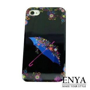 iPhone4S 愛情傘情侶彩殼 手機殼 Enya恩雅(郵寄免運)