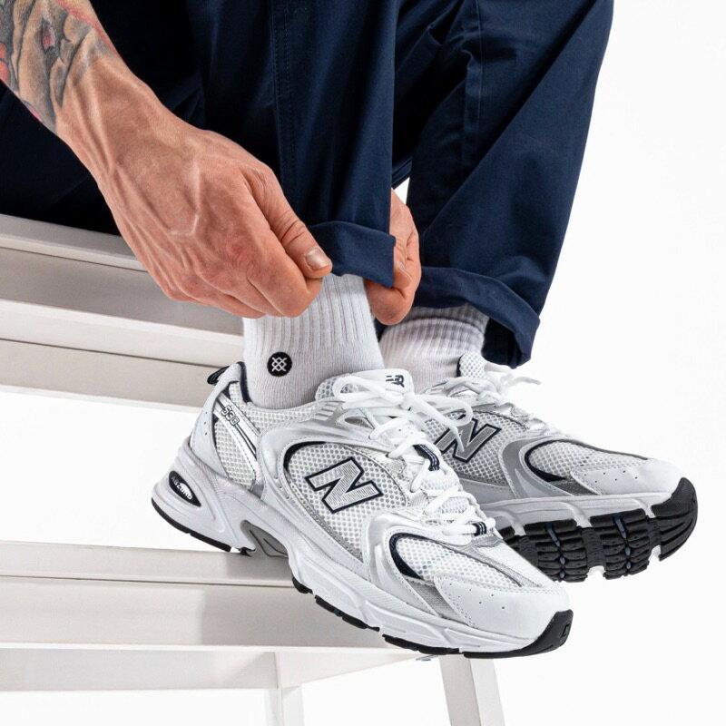 【日本海外代購】New balance NB 530 白 藍 銀 復古 休閒 慢跑 運動 男女鞋 MR530SG