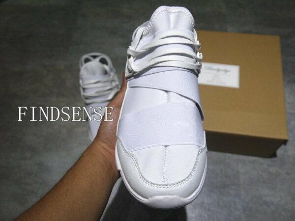 FINDSENSE打造高檔繃帶鞋厚底鞋增高鞋運動鞋慢跑鞋飛死鞋厚底鞋男非NIKE