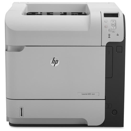 HP LaserJet 600 M601N Monochrome Laser Printer CE989A 0