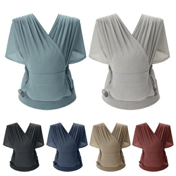 韓國 Pognae Step One Air 抗UV包覆式新生兒揹巾(6色可選)