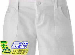 [COSCO代購如果沒搶到鄭重道歉] Calvin Klein Jeans 女休閒短褲 白色 W1033491-WTE
