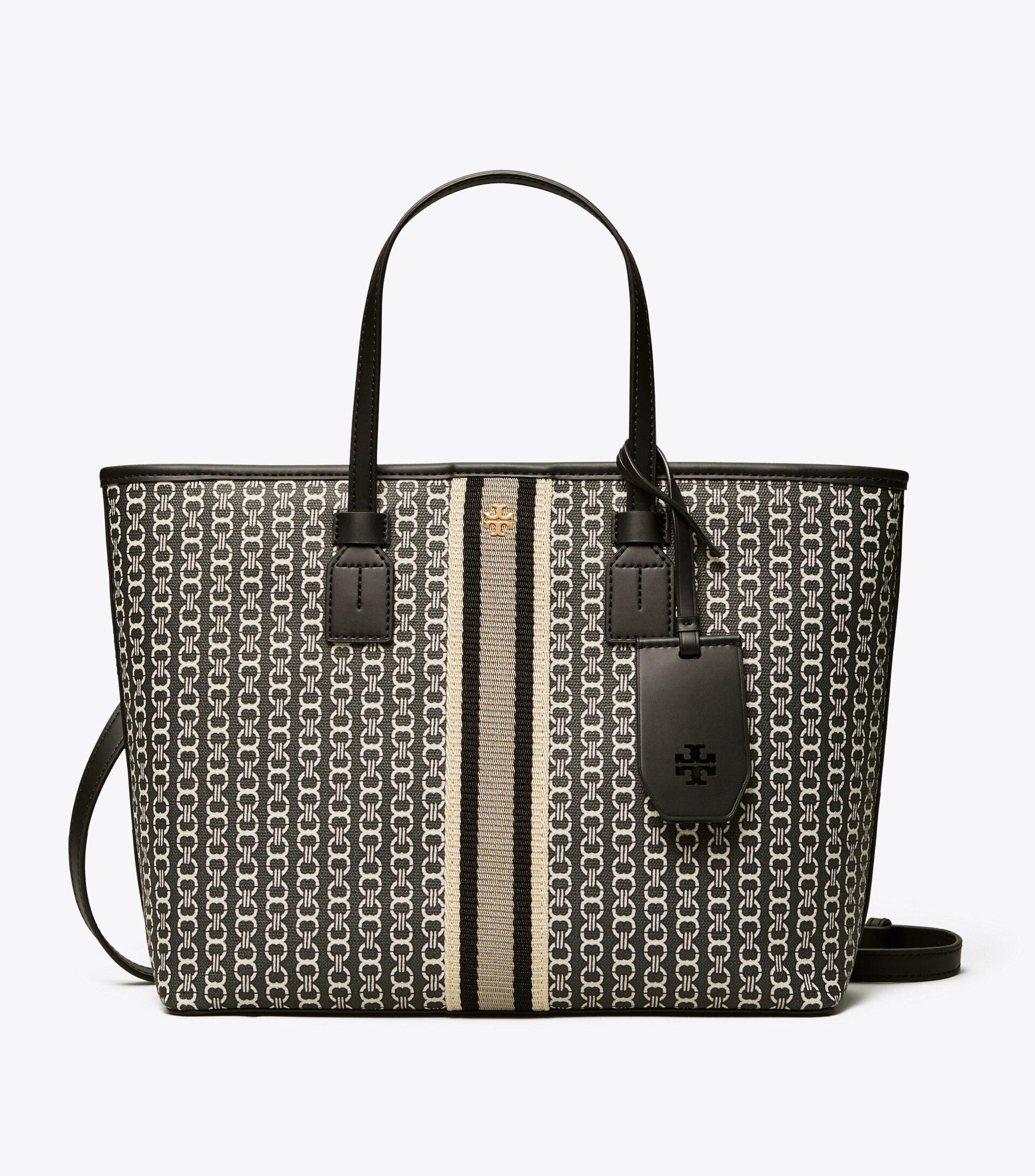 TORY BURCH TB女士小款提花手提包購物袋 53304 2