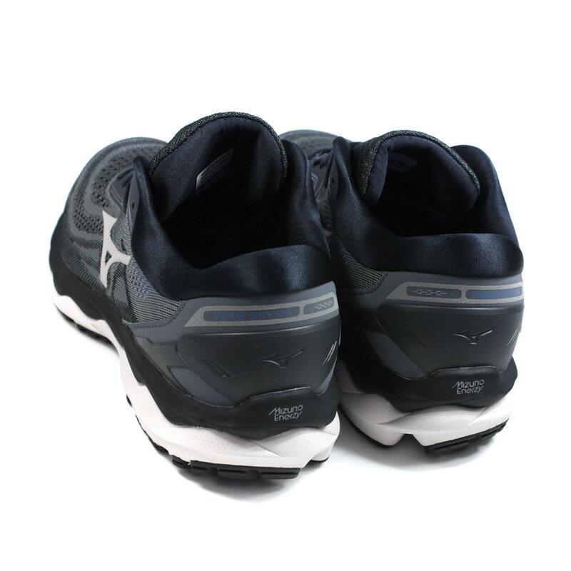 美津濃 Mizuno WAVE SKY 4 SW 慢跑鞋 運動鞋 深灰色 男鞋 JIGC201140 no115 1