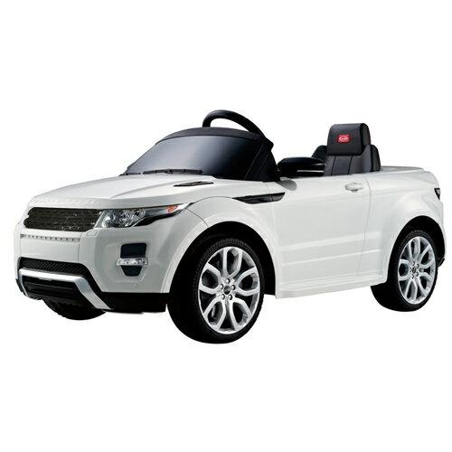 【奇買親子購物網】81400 Land Rover Evoque 電動車(白色/綠色)