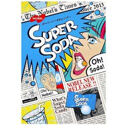 日本NOBEL諾貝爾 SUPER超級汽水糖[JP166]促銷賞味日2018.11.30