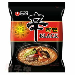 韓國農心 內銷版黑辛拉麵 (牛骨濃湯風味)泡麵(單包)[KR107]