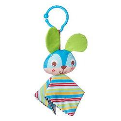 【同價位商品 第二件 66折】Tiny Love 夾偶-藍兔【隨身攜帶並可掛在嬰兒推車、提籃汽座及嬰兒床上】【紫貝殼】