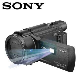 SONY FDR-AXP55 4K高畫質數位攝影機 ◆內建投影機◆B.O.SS. 全方位防手震