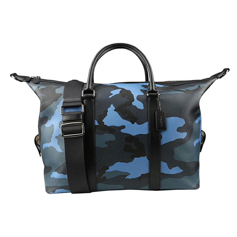 COACH 男士皮質手提包旅行袋商務出差旅遊公務配備攜帶包包 F29049